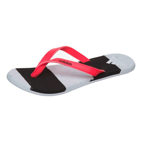 adidas Eezay Striped Marble Flip-flops Women - Black, White