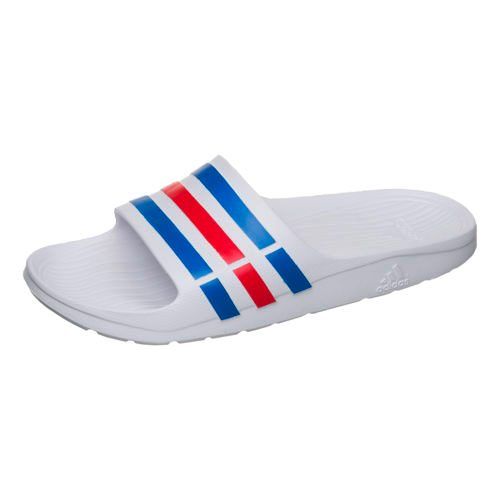 adidas Duramo Slide Slippers Men - White, Blue
