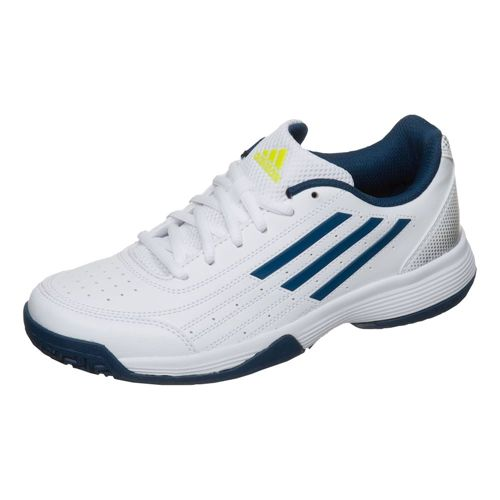 adidas Sonic Attack All Court Shoe Kids - White, Dark Blue