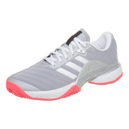 adidas Barricade 2018 All Court Shoe Women - Grey, White