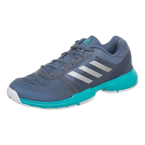 adidas Barricade Club All Court Shoe Women - Dark Blue, Turquoise