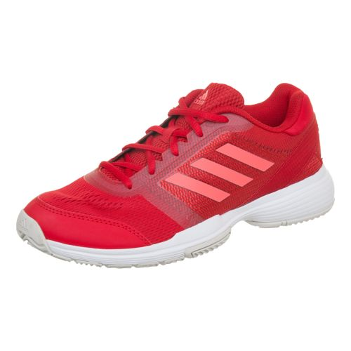 adidas Barricade Club All Court Shoe Women - Red, Coral