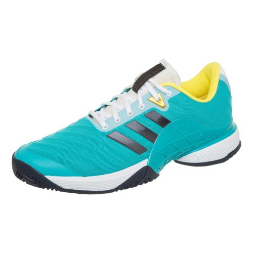 adidas Barricade 2018 All Court Shoe Men - Turquoise, Dark Blue