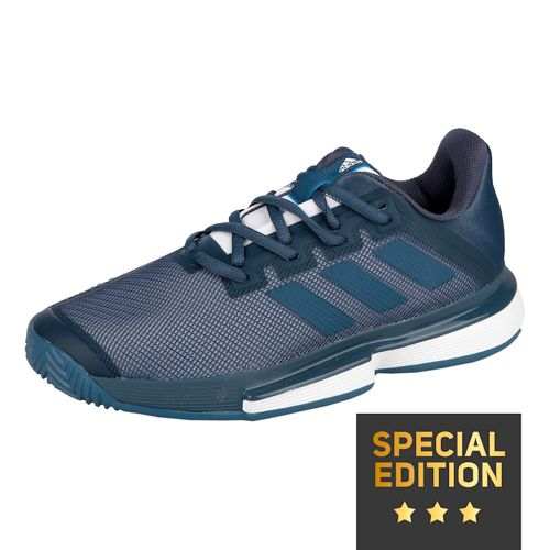 adidas Sole Match Bounce Clay Court Shoe Special Edition Men - Dark Blue, Blue