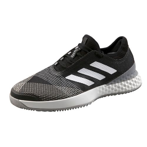 adidas Adizero Ubersonic 3 Clay Court Shoe Men - Black, Grey