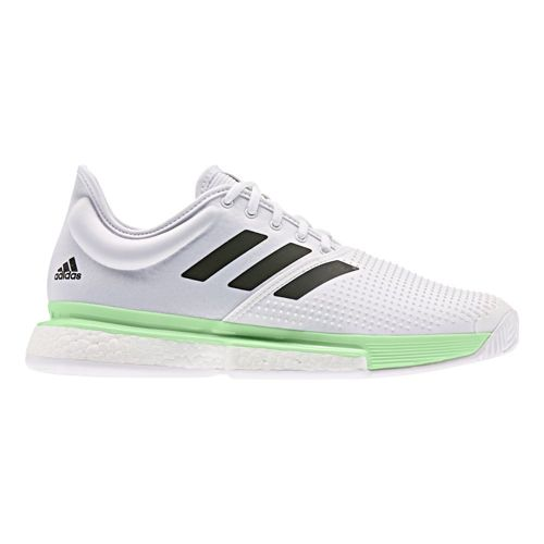 adidas Sole Court Boost All Court Shoe Men - White, Light Green