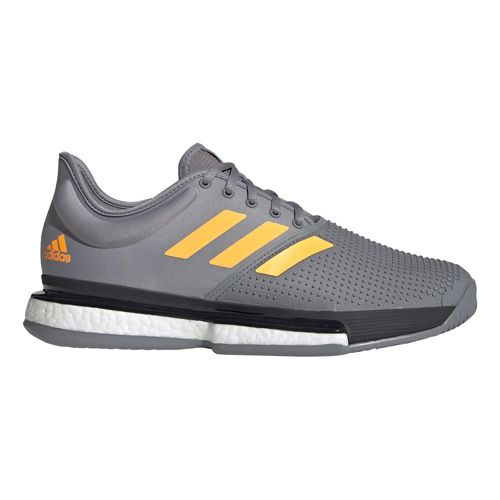 adidas Sole Court Boost All Court Shoe Men - Grey, Orange