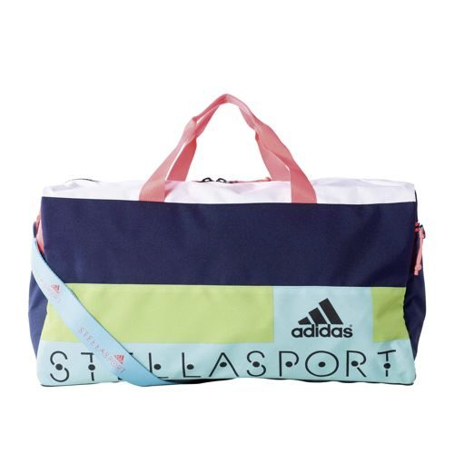 adidas Stellasport Teambag Sports Bag - Dark Blue, Neon Red