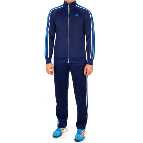 adidas Essentials 3S PES Tracksuit Tracksuit Men - Dark Blue