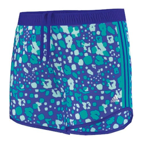 adidas Prime Prime 3 Stripes Shorts Girls - Violet, Turquoise