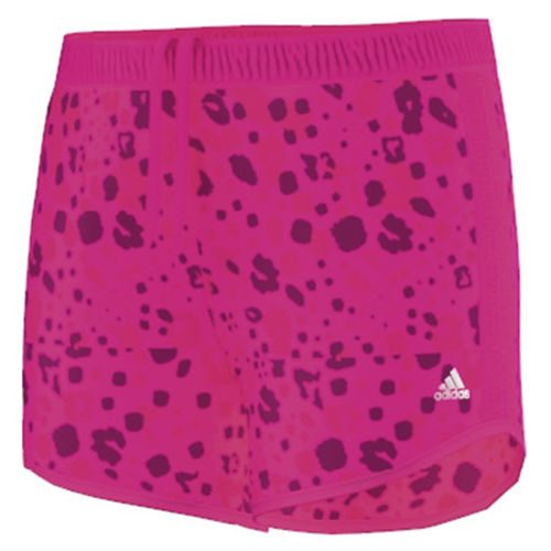 adidas Prime Prime 3 Stripes Shorts Girls - Neon Pink