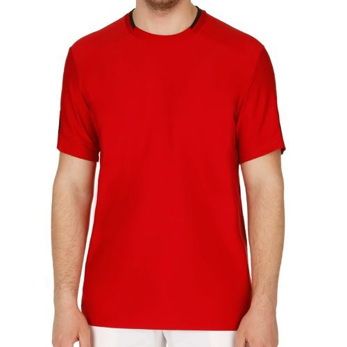 adidas All Premium T-Shirt Men - Dark Red