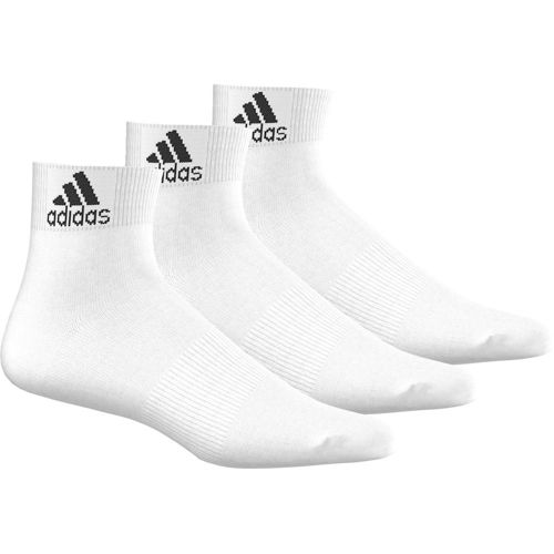 adidas Performance Ankle Thin Pack Tennis Socks 3 Pack - White