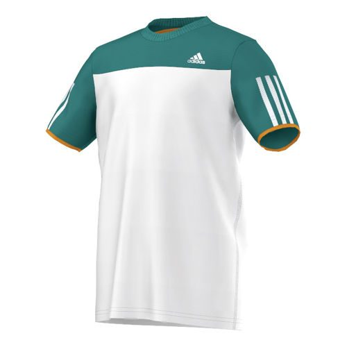 adidas Club T-Shirt Boys - White, Green