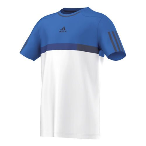 adidas Barricade T-Shirt Boys - White, Blue
