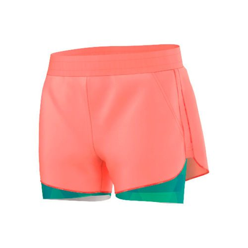 adidas Club Shorts Girls - Neon Orange, Neon Green