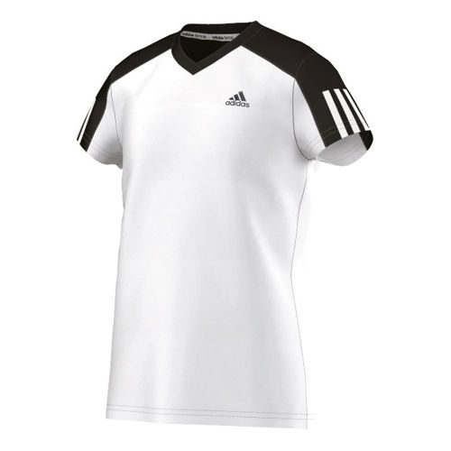adidas Club T-Shirt Girls - White, Black