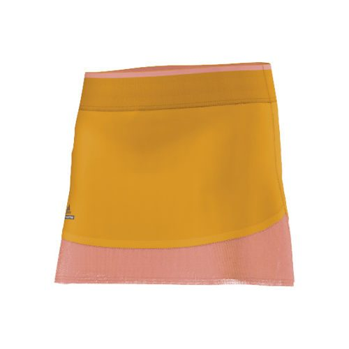 adidas Stella McCartney Barricade Skirt Girls - Golden Yellow, Orange