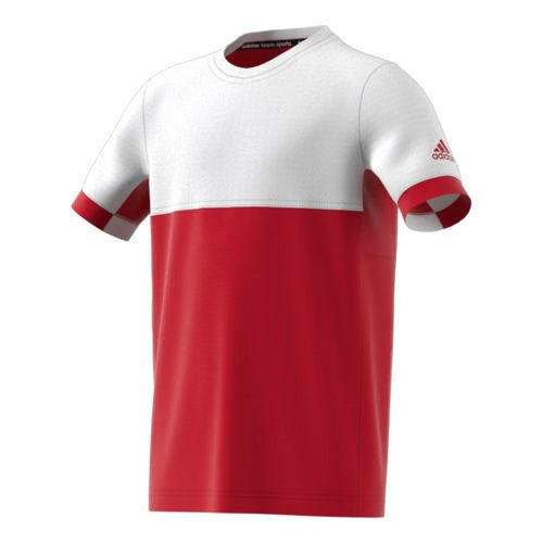 adidas Climacool T16 T-Shirt Boys - Red, White