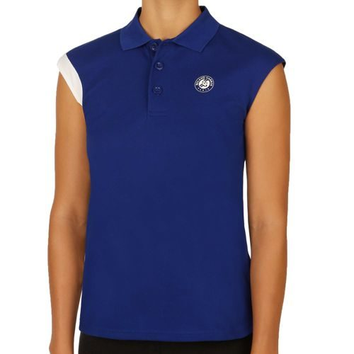 adidas Roland Garros Y3 Top Polo Women - Blue, White