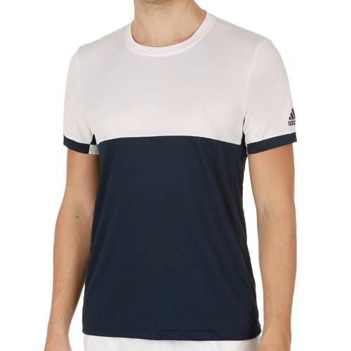 adidas Climacool T16 Shortsleeve T-Shirt Men - Dark Blue, White