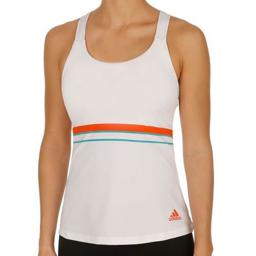 adidas All Premium Strappy Tank Top Women - White