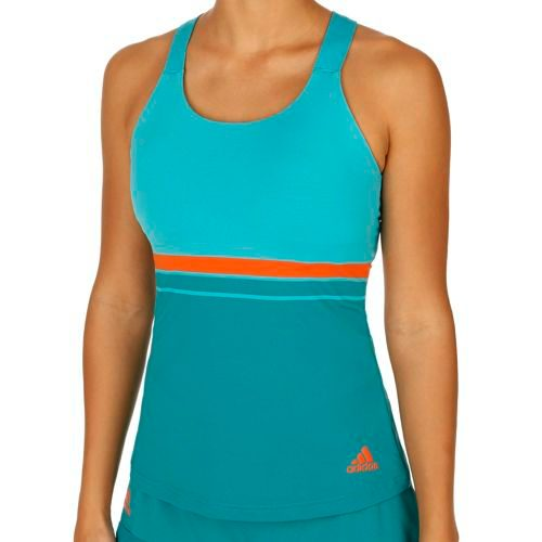 adidas All Premium Strappy Tank Top Women - Green, Neon Green