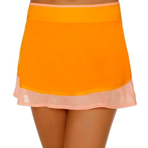 adidas By Stella McCartney Andrea Petkovic Barricade Australian Open Skort Women - Orange, Pink