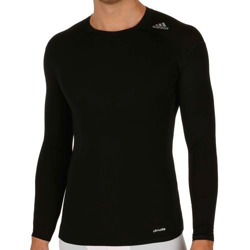 adidas Techfit Base Long Sleeve Men - Black