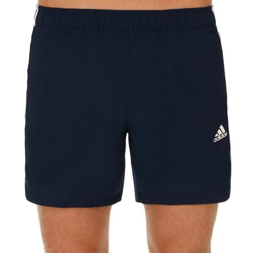 adidas Essentials 3 Stripes Chelsea Shorts Men - Dark Blue, White