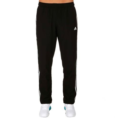 adidas Essentials 3 Stripes Woven Training Pants Men - Black, White
