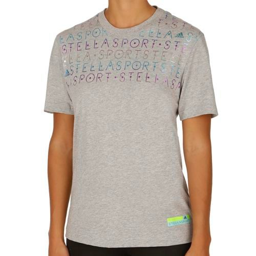 adidas Stellasport Graphic T-Shirt Women - Lightgrey