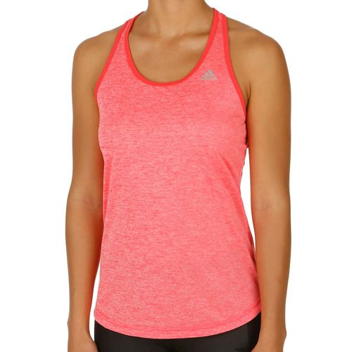 adidas Keyhole Tank Top Women - Neon Red