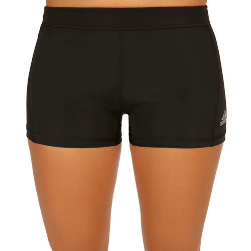 adidas Techfit Tight 3 Inch Ball Shorts Women - Black, Silver