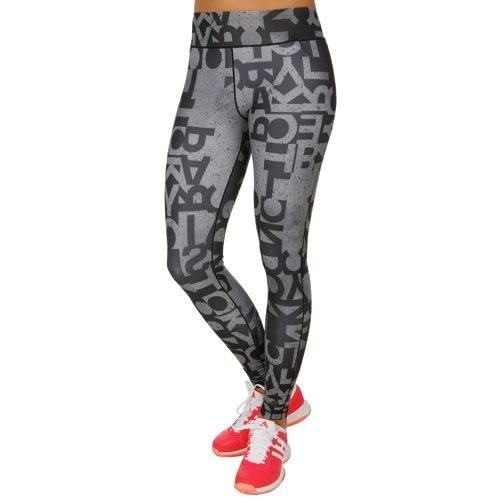adidas Typo Leggings Women - Black, White
