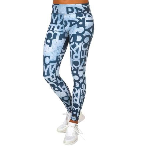 adidas Typo Leggings Women - Dark Blue, Blue