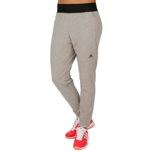 adidas Tappered Training Pants Women - Grey