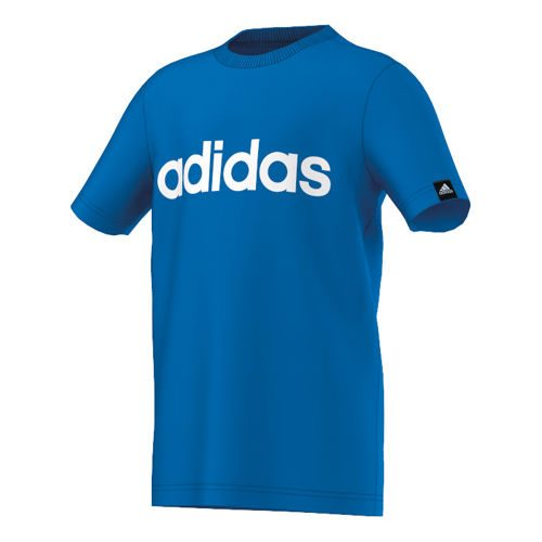 adidas Essentials Logo T-Shirt Boys - Blue, White