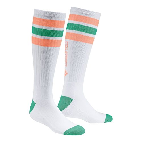 adidas Stellasport Knee Socks Pack Tennis Socks 1 Pack - White, Orange