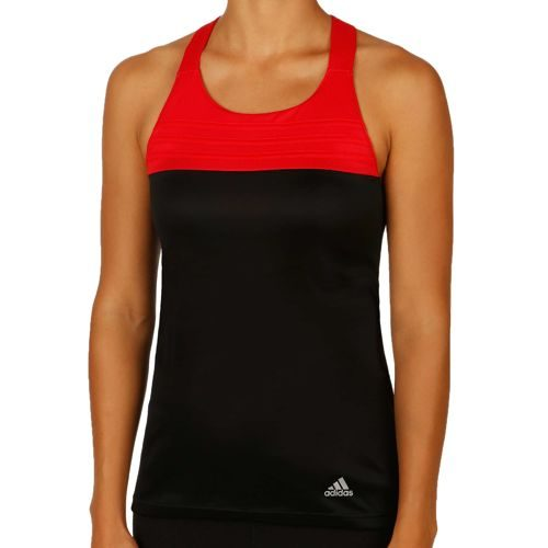 adidas Response Cup Tank Top Women - Black, Red