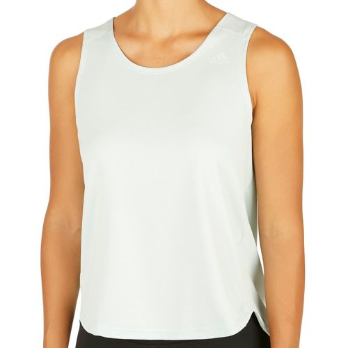 adidas Kanoi Run Tank Top Women - Light Green