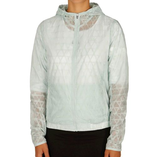 adidas Kanoi Run Transparent Training Jacket Women - Light Green