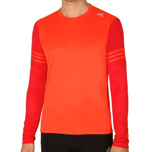 adidas Response Long Sleeve Men - Red, Lightred