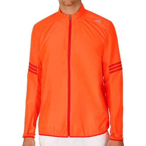 adidas Response Wind Running Jacket Men - Red, Lightred