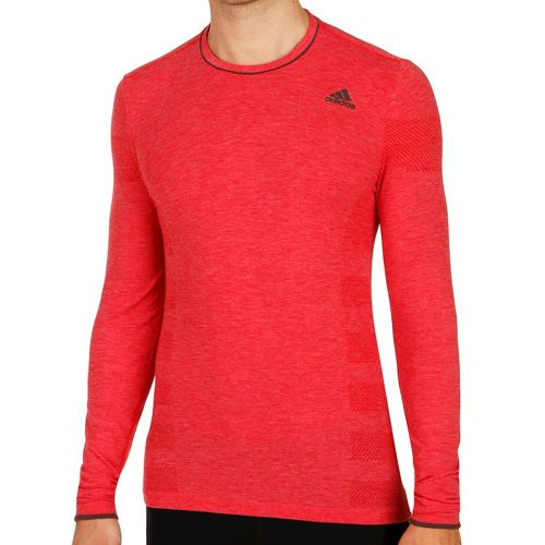 adidas Wool Primeknit Long Sleeve Men - Red