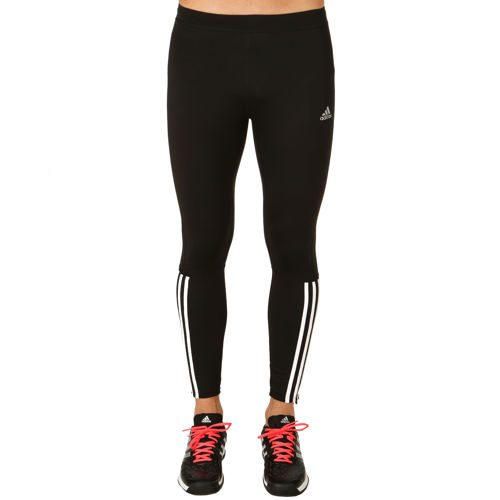 adidas Response Warm Tight Men - Black, White
