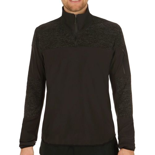 adidas Supernova Storm 1/2 Zip Long Sleeve Men - Black