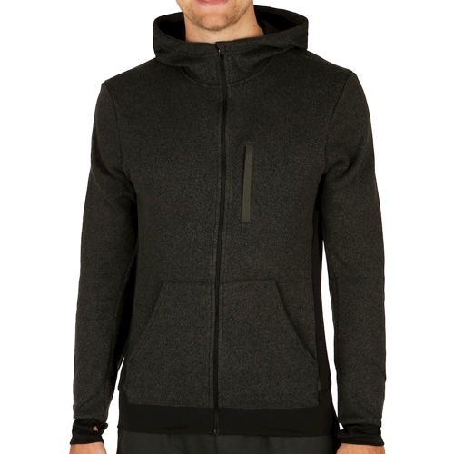 adidas Knit Running Jacket Men - Black, Grey