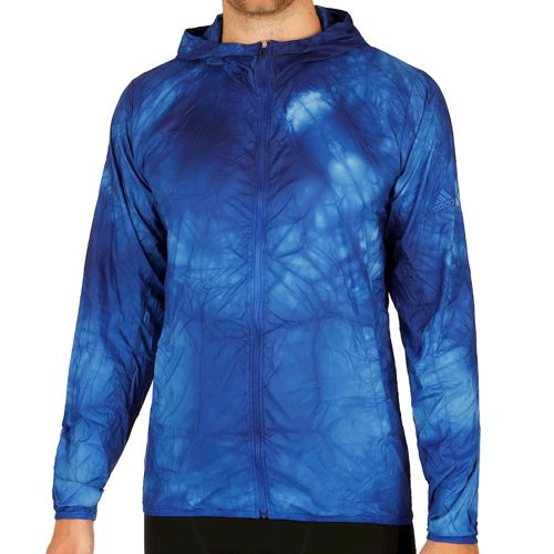 adidas Kanoi Run Packable Dye Running Jacket Men - Blue