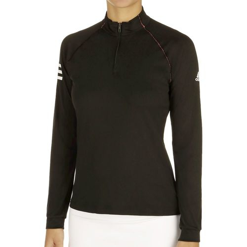 adidas Club Midlayer Long Sleeve Women - Black, White